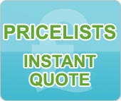 Price lists and Instant quote
